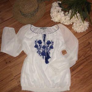 Valerie Stevens blouse NWOT